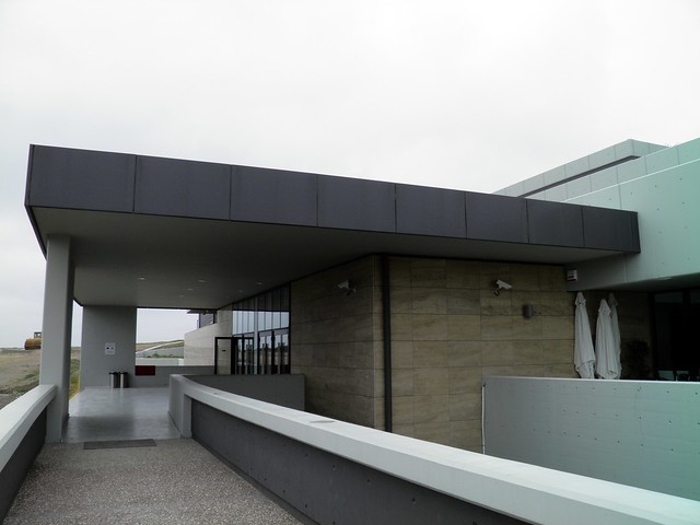 The entry to the new Archaeological Museum, Pella