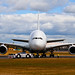 Head-on Airbus A380