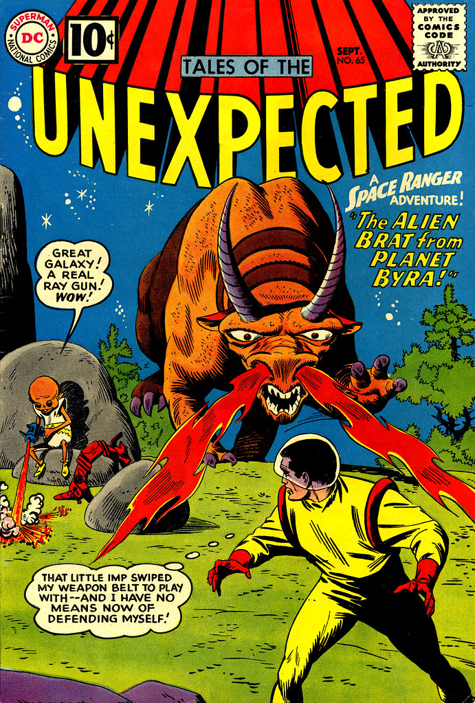 Tales of the Unexpected #65 (DC, 1961) Bob Brown cover