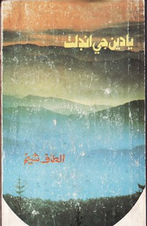 Altaf Shaikh's Travel Books 34..يادن جي انڊلٺ