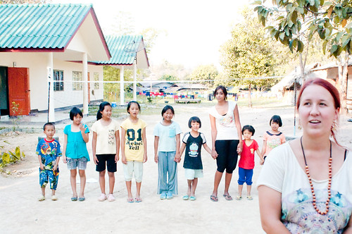Game at Children's Home