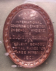 ROYAL SANITARY INSTITUTE medal reverse