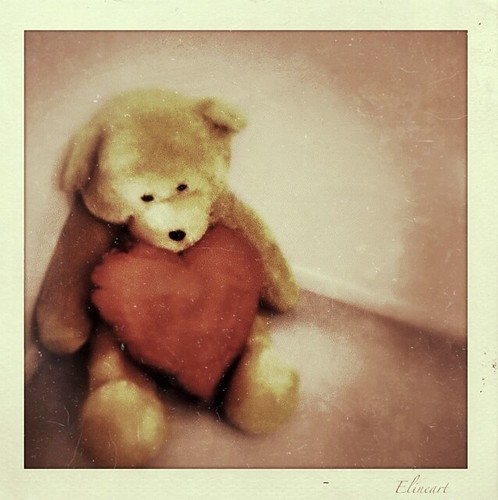 261/365- Teddy's heart by elineart