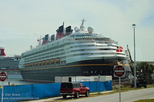 Arriving at Port Canaveral