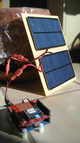 Solar Powered Andruino and XBee Radio