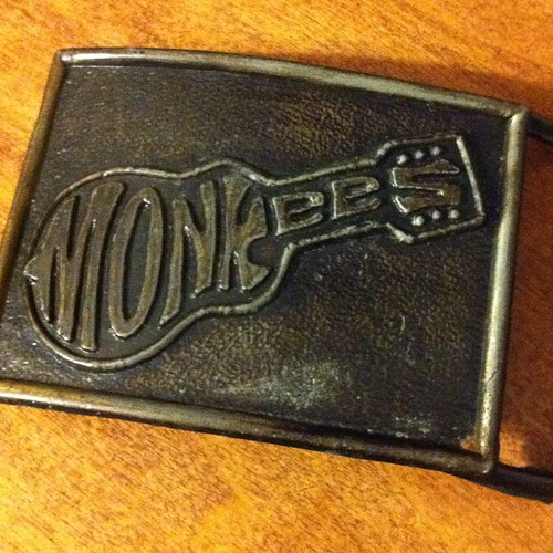 Monkees belt buckle.