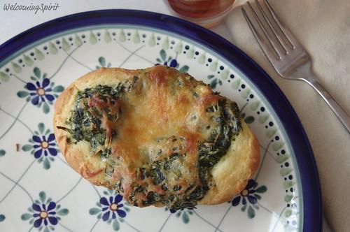 gluten free spinach dish 009