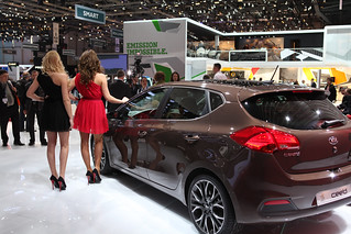 Kia at the 2012 Geneva Motor Show