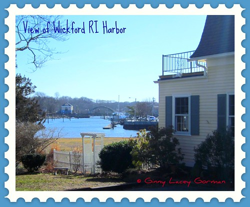 Wickford RI harbor view- waterfront real estate