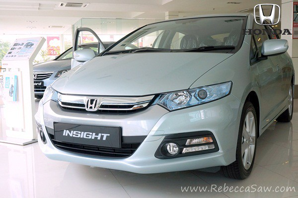 the all new honda insight 2012