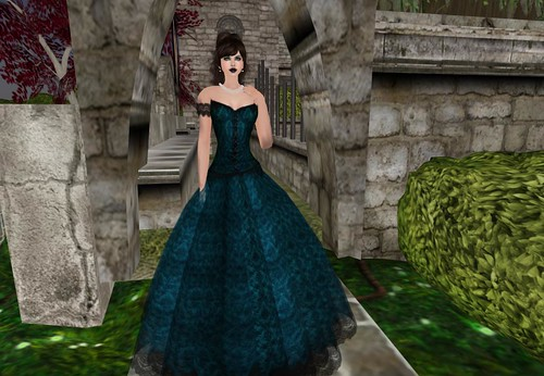 :KR: Victoria Gown - Teal (4000 Members) ~ Notices group by Cherokeeh Asteria