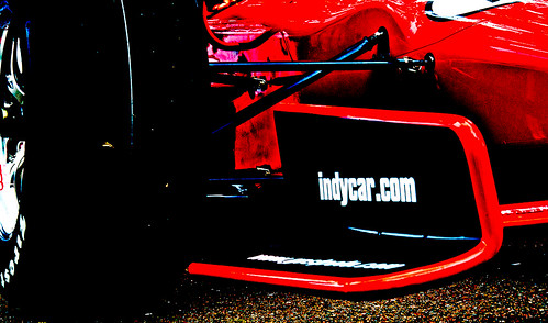 New Indy Car #DW12 - Abstract
