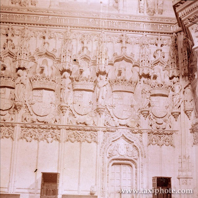 Monasterio de San Juan de los Reyes en los años 20. Fotografía de José Villar Martelo