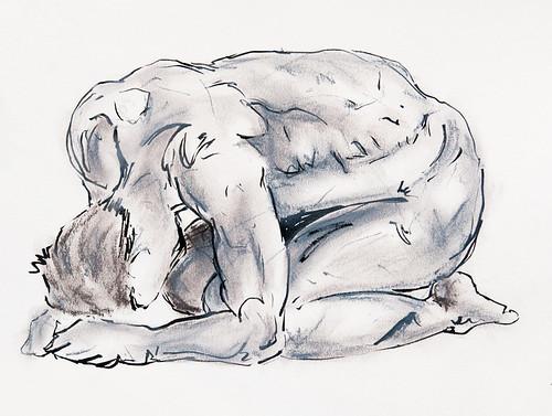 Life Drawing - 03-07-12-4