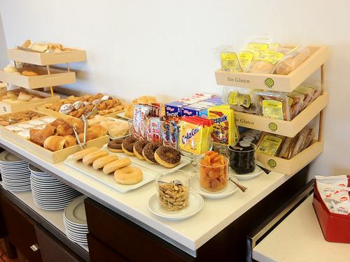 Parador desayuno buffet