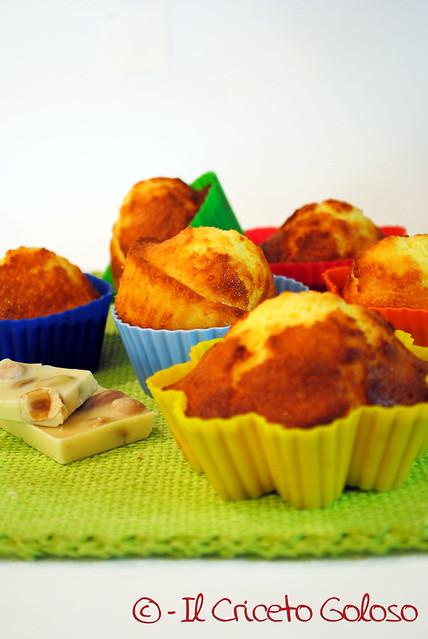 Muffins al cocco gluten free