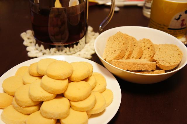 食後の紅茶&クッキー