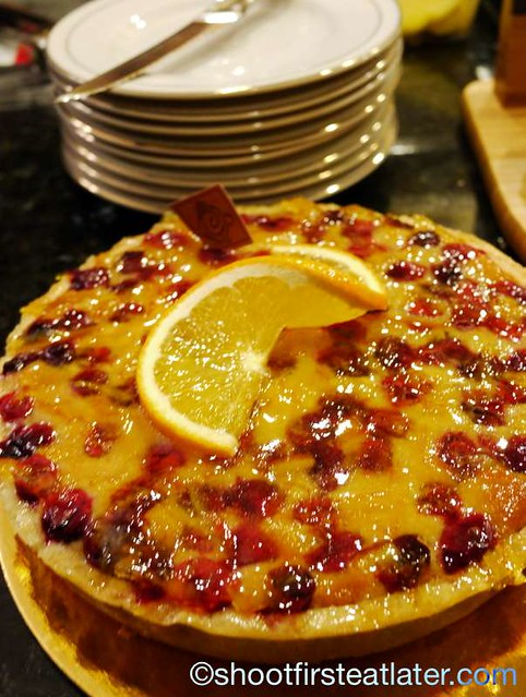 cranberry orange tart