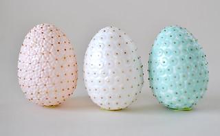Pretty sequin eggs
