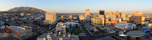 Downtown El Paso - Panorama