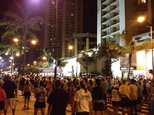 Hapalua Half Marathon Start Line