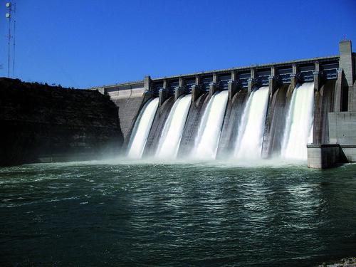Presa Confederación Hidrográfica del Guadiana