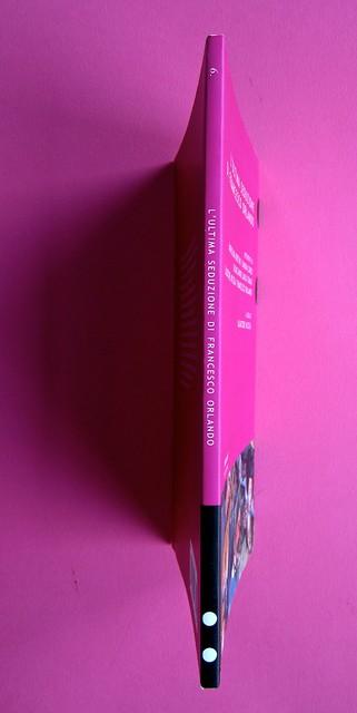 L'ultima seduzione di Francesco Orlando ( a cura di Salvatore Nicosia), :due punti edizioni 2012. Progetto grafico e impaginazione: .:terzopunto.it. Quarta di copertina, dorso, copertina (part.), 1