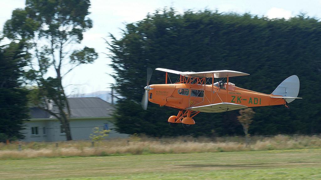 1934 ZK-ADI de Havilland D.H.83 Fox Moth