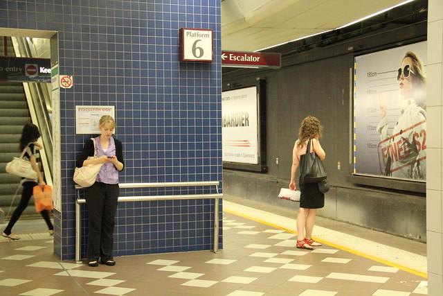 Four Women, Central Railway Station, Brisbane