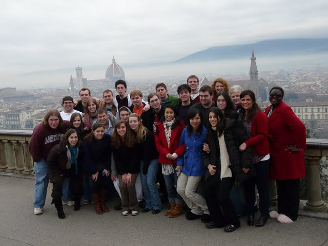 Lafayette College Choir in Florence