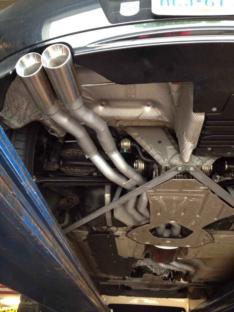 2007 Z4 3 0si Custom Exhaust    - ZPOST