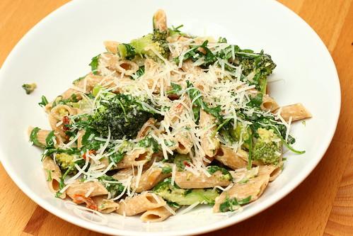 Pasta mit Brokkoli und Ricotta