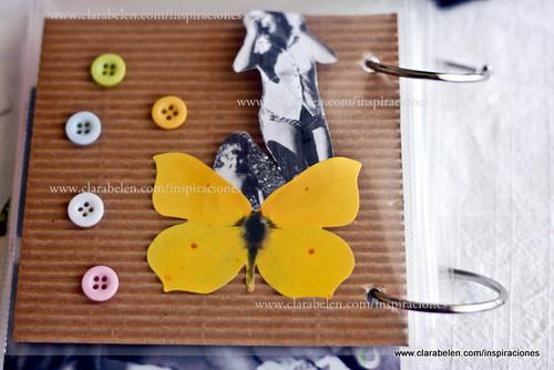 Inspiraciones manualidades y reciclaje lbum casero - Decorar album de fotos ...