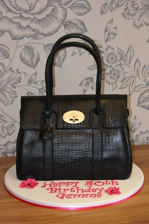 Mulberry Handbag Cake 3