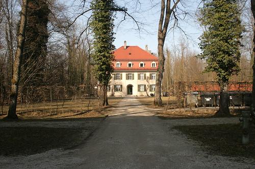 Verwaltungsgebäude am Schloss Herrenchiemsee