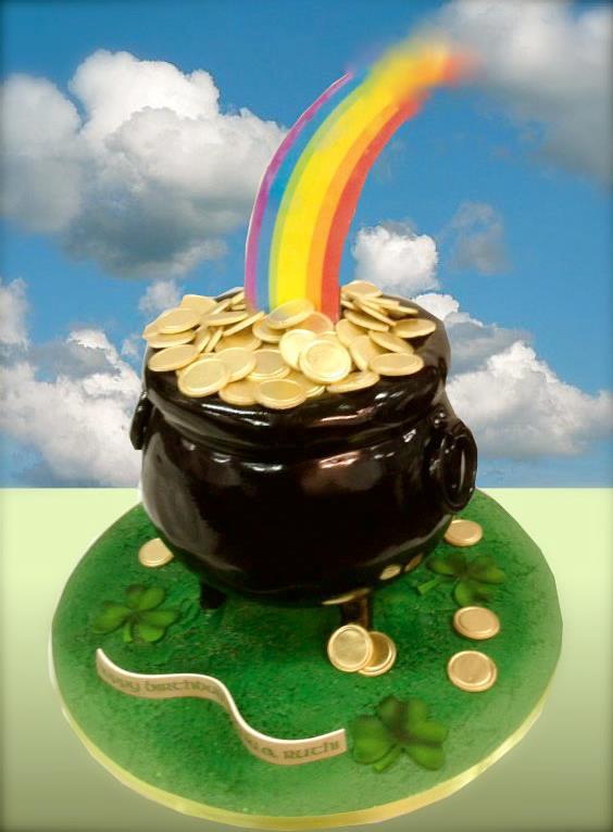 pot o' gold cake