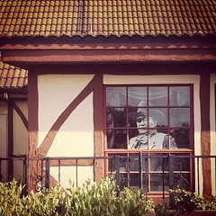 John Wayne in Solvang #solvang #johnwayne #instagram #iphone