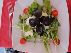 Italian Salad at Bianco Rosso Pasteria, Lviv, Ukra…
