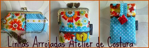 Conjunto blue spring flowers by ♥Linhas Arrojadas Atelier de costura♥Sonyaxana