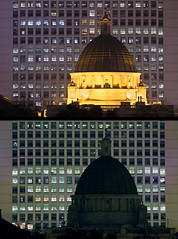 Earth Hour comparison