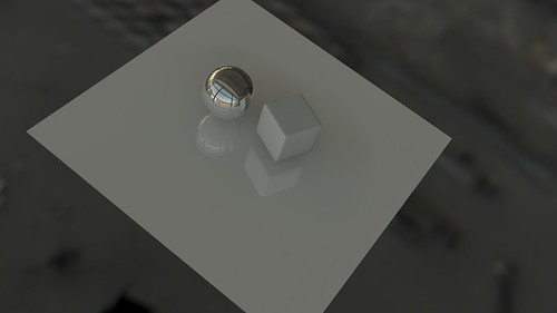 HDRI lighting blender sample