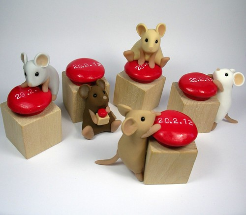 Red Button Mice