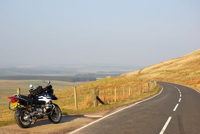 Haar and the hills.