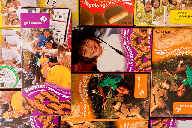 Girl Scout Cookie pop-up