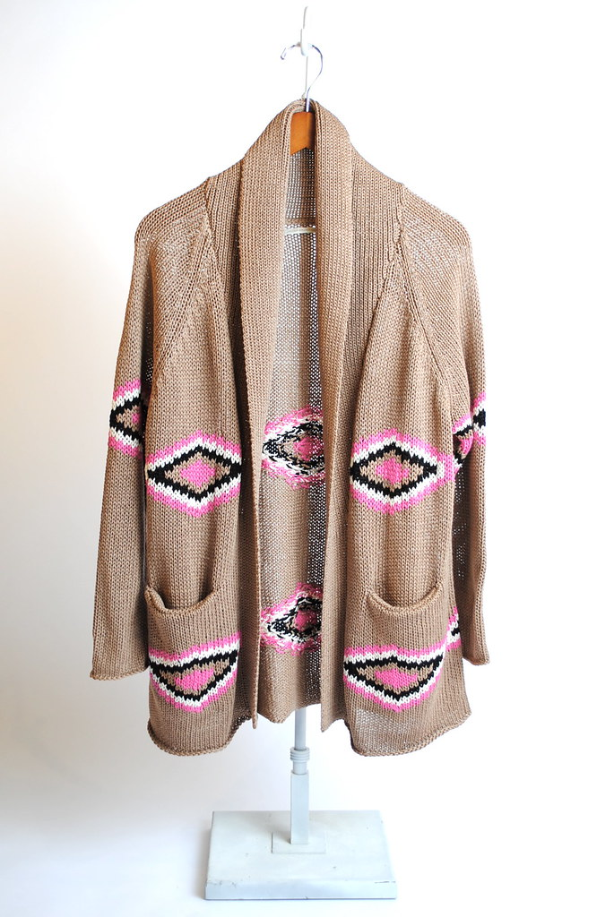 "Shawl Collar ""Santa Fe"" Cardigan"