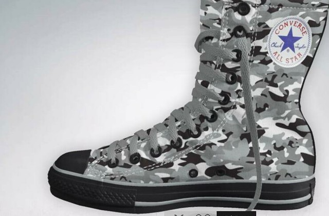 Converse® presents The Trent Rock Limited Edition Tactical Chucks™ 2.012