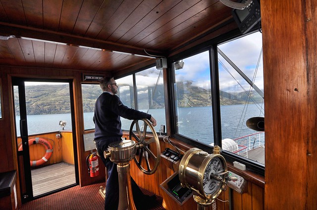 On Board TSS Earnslaw