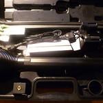 Gefüllter Koffer der X21R