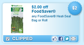 Foodsaver Heat-seal Bag Or Roll Coupon