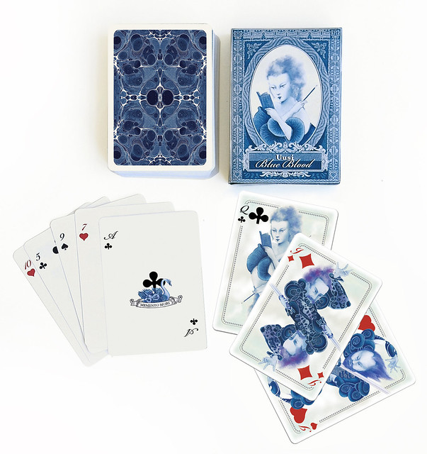 Uusi Blue Blood Ace Memento Mori Swan